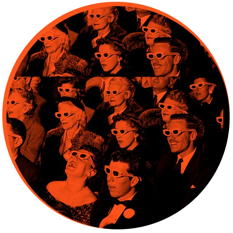 Illustrasjonsbilde til content marketing publikum med solbriller