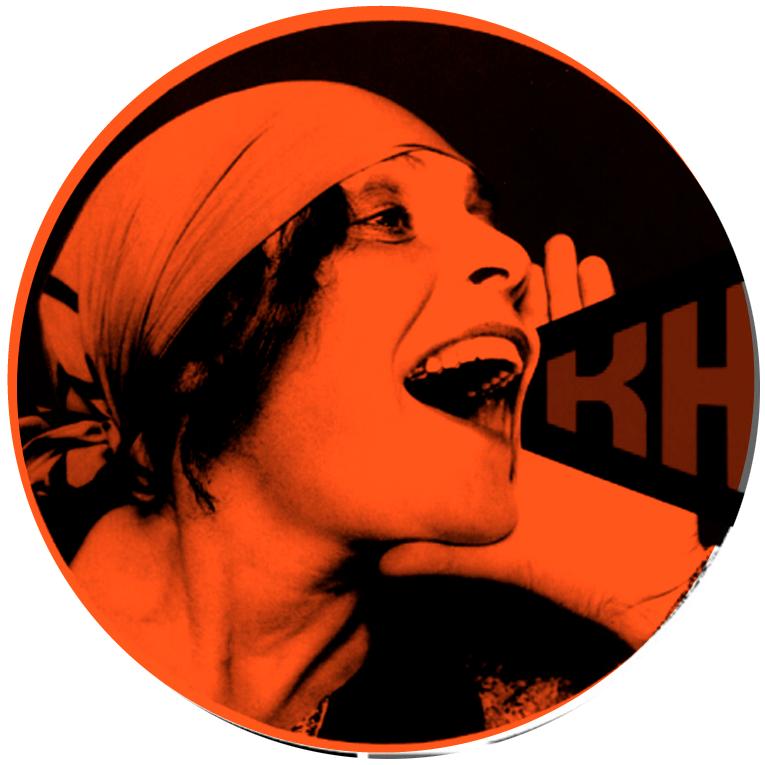Illustrasjonsbilde til kampanje kvinne roper