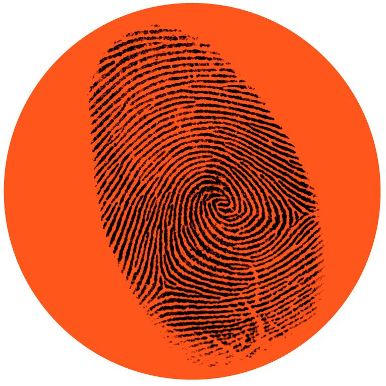 Illustrasjonsbilde til visuell Identitet fingeravtrykk