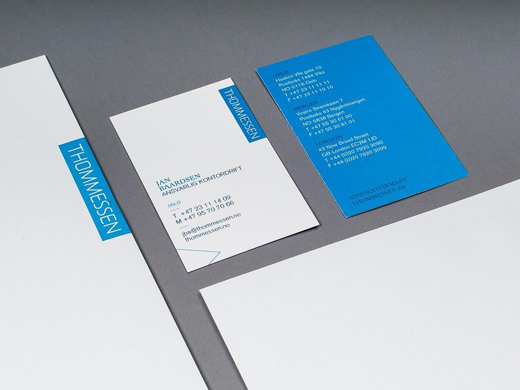 Visittkort og brevark
