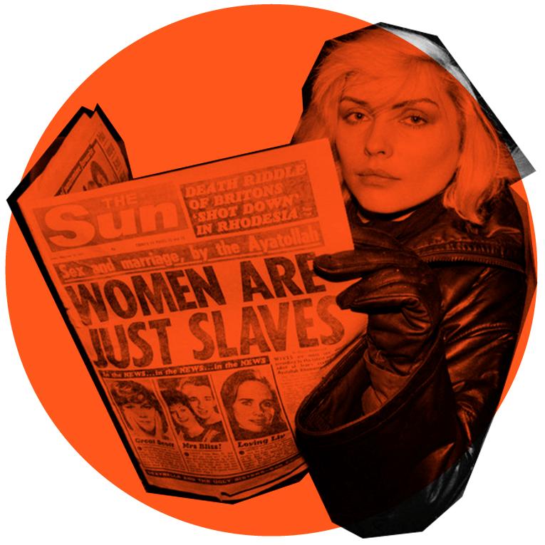 Illustrasjonsbilde til magasin kvinne leser avis