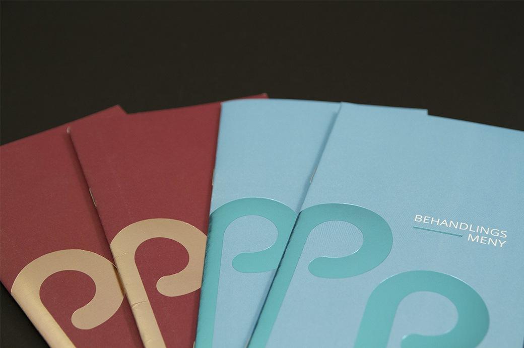 Brosjyrer i flere utgaver