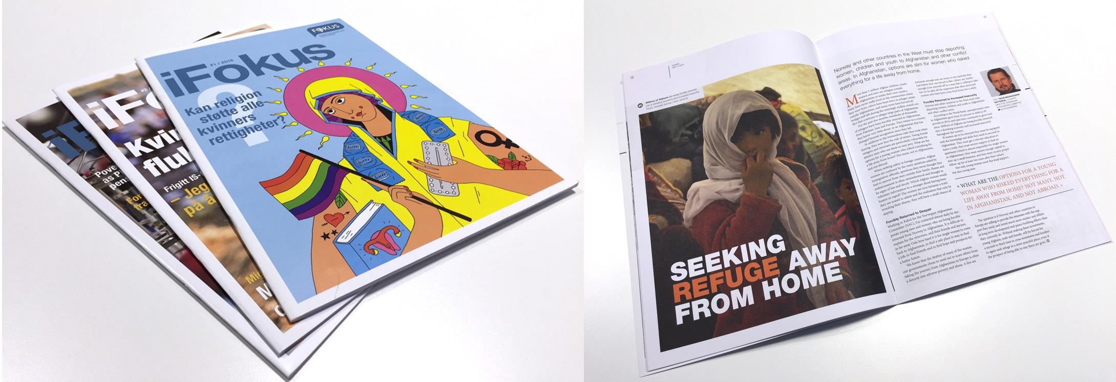 Magasinet iFokus laget av Oktan Oslo