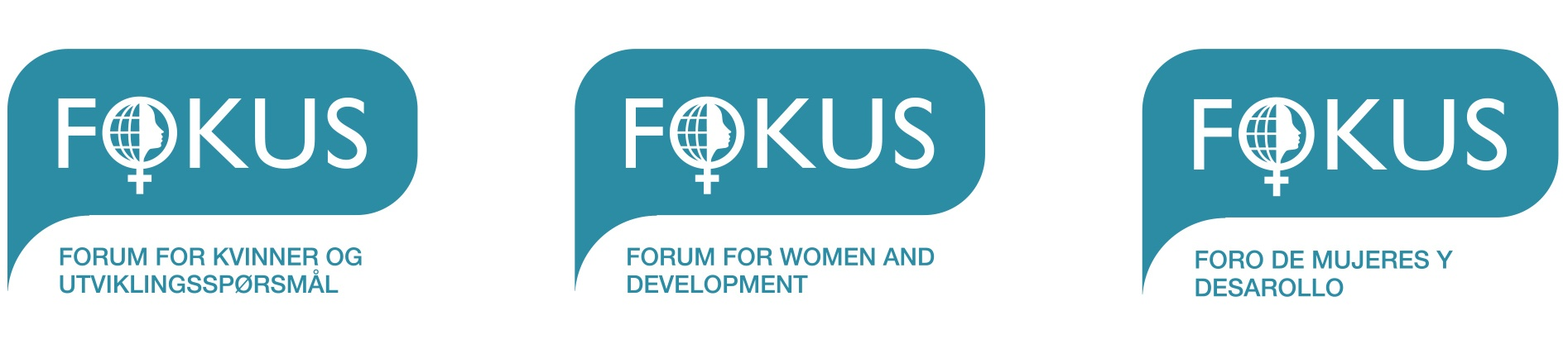 Fokus-logos laget av Oktan Oslo