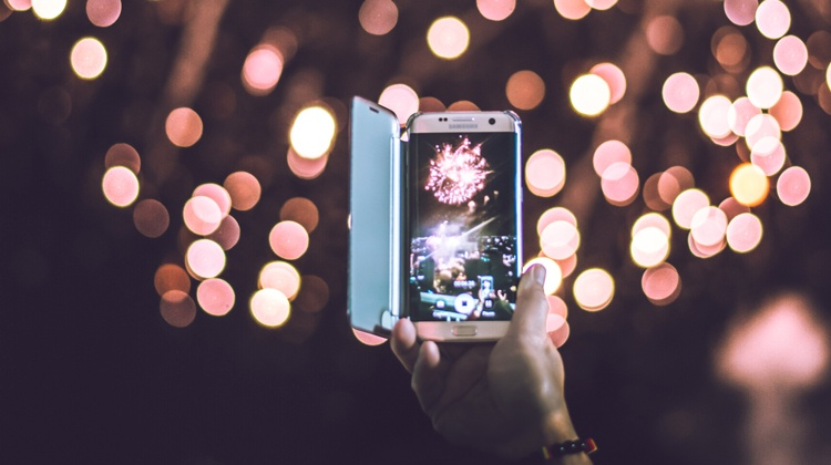 Stjerneskudd på mobil