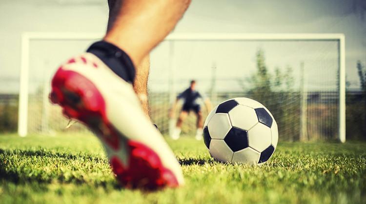 Fotballspiller mål