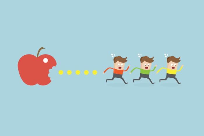 Forfølgende Frukt